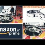 Bergner Stainless Steel Cookware(Fry pan) Unboxing Review Argent triply Hindi
