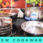 My new stainless steel cookware collection |  Cookware shopping haul  | Sudiptalivz