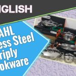 Stahl Artisan Triply Stainless Steel Cookware Review (in English)
