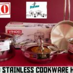 Amazon Unboxing | VINOD COOKWARE  STAINLESS STEEL  Cookware | LIVE DEMO | Amazon Cookware Unboxing