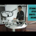 Bergner Saute Pan Review|First Time Cleaning Method| Stainless Steel Cookware | Hindi