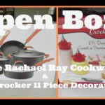 Open Box! Rachael Ray Hard Anodized II Nonstick Cookware 10 Piece Set & More!