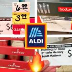 ALDI CLEARANCE!!!🔥CLOTHES, CAST IRON COOKWARE, FACIAL KIT, SEWING KITS + CHRISTMAS GIFTS!!!