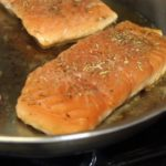 Cooking Salmon in Waterless Cookware