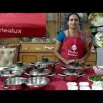 Healux cookware లో నూనె వాడకుండా మటన్ బిర్యాని🤔|oil less muttonbiryani recipe 👌👌Healux cookware