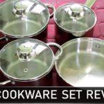 இந�த பாத�திரத�தோட விமர�சனம� பார�க�கலாம� வாங�க   Cookware Set Review in stainless steel Cookware set