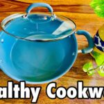 Most Healthy Cookware / MEYER Ceramic Kadai Review / Cookware Haul / #kitchenproductreview