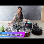 Indian Cookware Collection/ Cast Iron vessel & Stainless steel vessels/Cookware collection in telugu