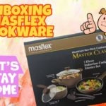HOME QUARANTINE | UNBOXING MASFLEX Cookware and Kitchenware Set 👨🏾‍🍳❤️