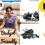 AMAZON 15 PIECE NONSTICK COOKWARE SET || BUDGET FRIENDLY ||