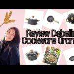 Review Debellin Cookware Granite | wajan penggorengan kesehatan aman dan anti lengket