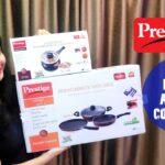 Prestige Omega Deluxe Advanced Cookware Set   Deluxe Duo Cooker   Induction Utensils   Joy Of Rims