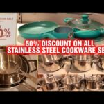 50% Discount in all Kitchen Cookware Sets| Home Centre Freedom Mega Sale 2020| Stainless Steel Sets