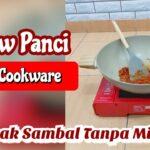 Memasak Sambal Tanpa Minyak Goreng | Review Stein Cookware | Panci Sehat
