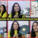 ముంబైలో మా కొత్త కాపురానికి తీసుకున్న కొత్త వస్తువులు / Best Cookware & Top Rated Kitchen Items