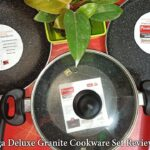 Prestige Omega Deluxe Granite Cookware set Review and unboxing – engineers cooking
