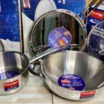 Prestige triply splendor series steel kadai | Prestige roti tawa | steel cookware life time warranty