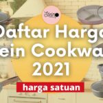Daftar harga stein cookware 2021