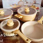 Unboxing peralatan masak || yellow pumpkin cookware|| swiden