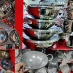 kitchen glassware stainless steel cookware collections cast iron cookware Ethirajulu naidu parrys