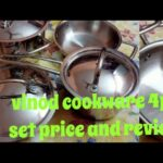 vinod cookware stainless steel 4 pcs set unboxing and review
